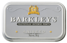 Barkleys Aniseed Peppermints Tin 50g